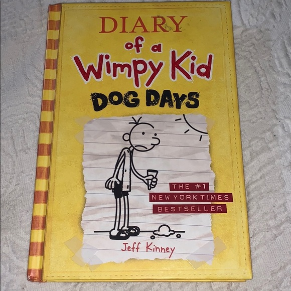Other - Diary of a Wimpy Kid Dog Days Book